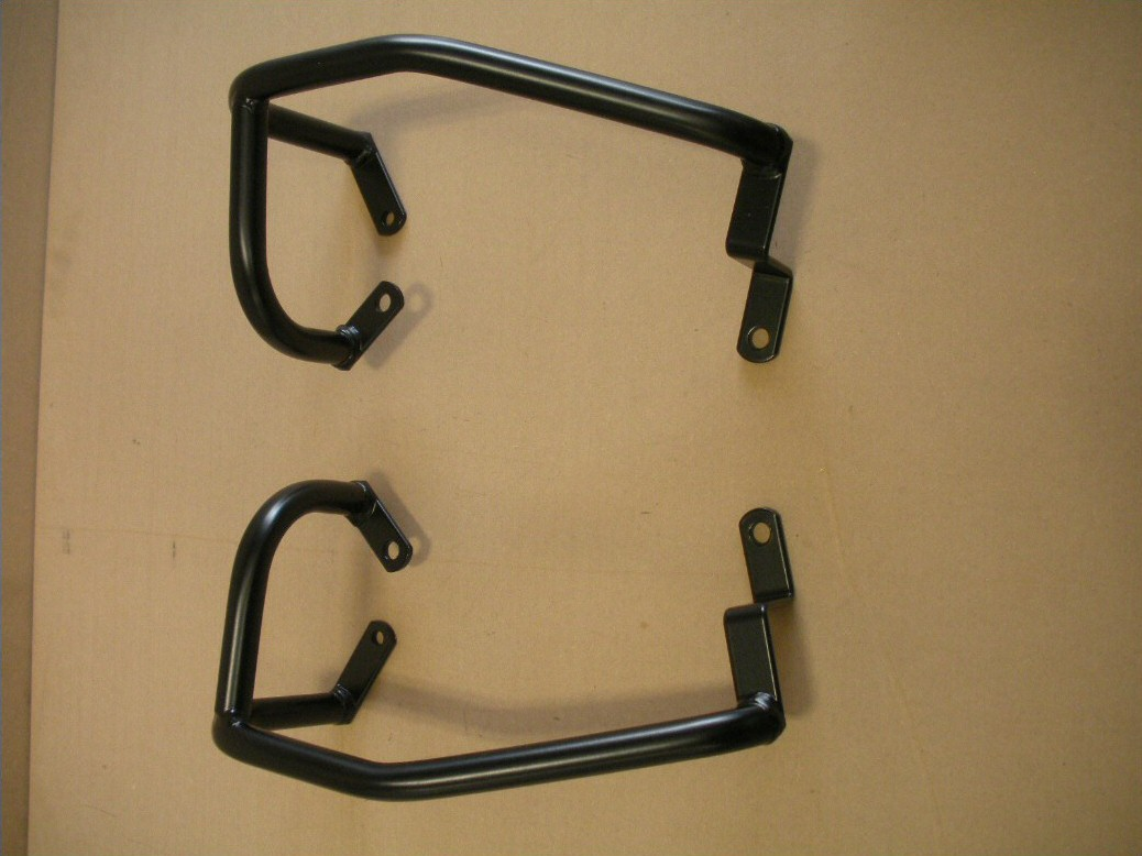 Aftermarket crash bars to fit the Suzuki DR350.