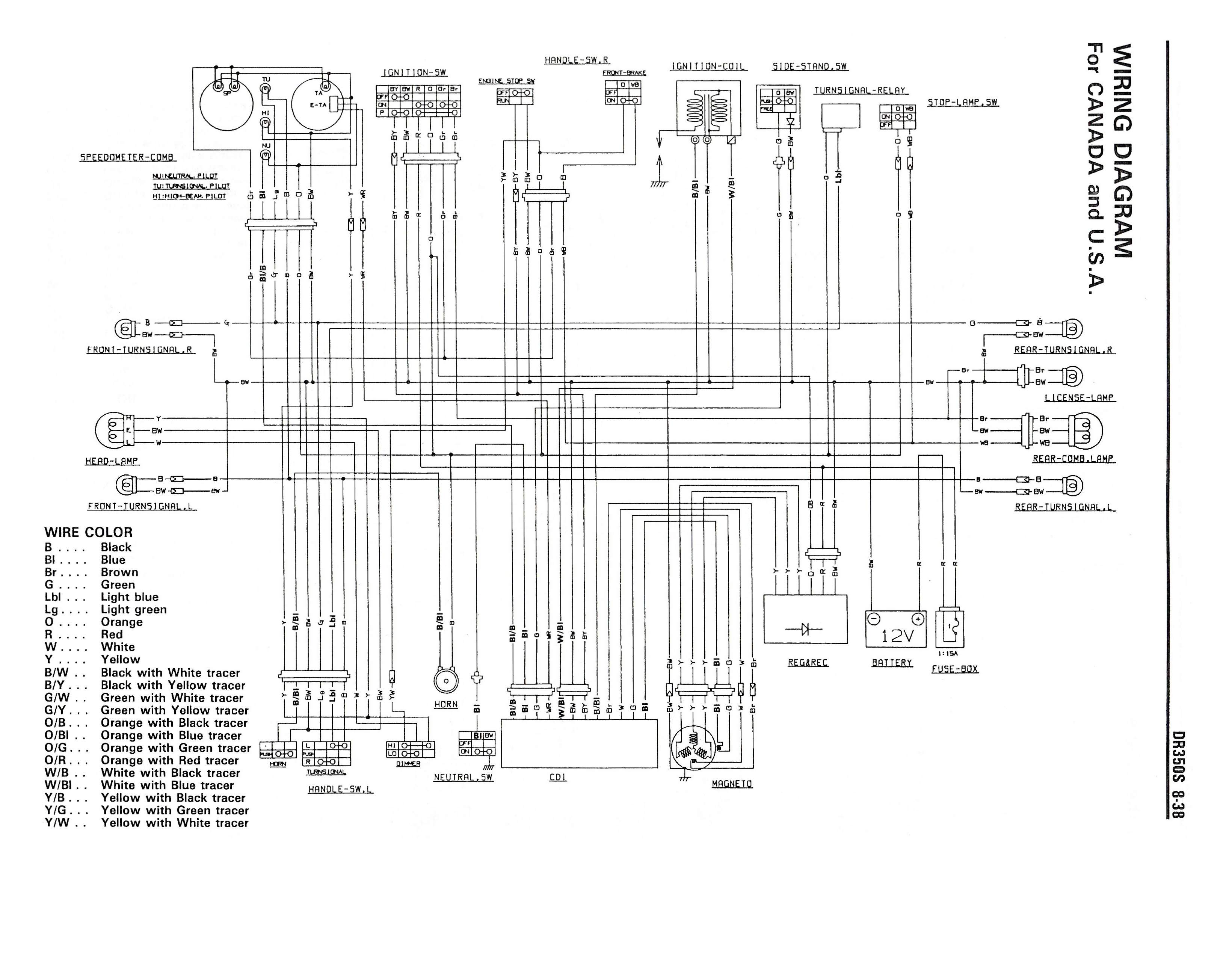 Dr350se Wiring Diagram Library Blizzard Plow