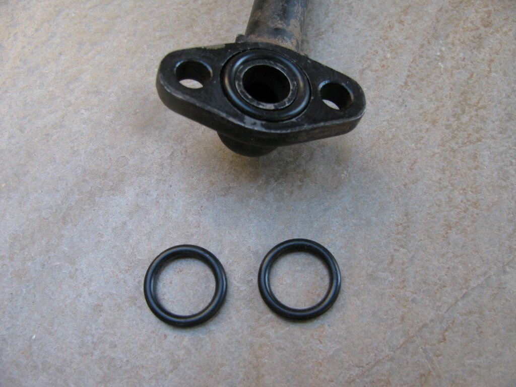 O ring to seal the oil lines to the engine case spn 09280