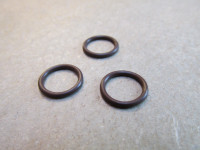 Viton O-ring to seal the throttle slide guide to the carburetor body on BST carburetors (constant velocity or CV). Sold each.