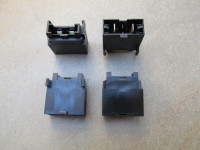 ATO / ATC fuse holder to accept female spade terminals, bottom entry