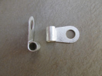 8 mm flag style ring terminal