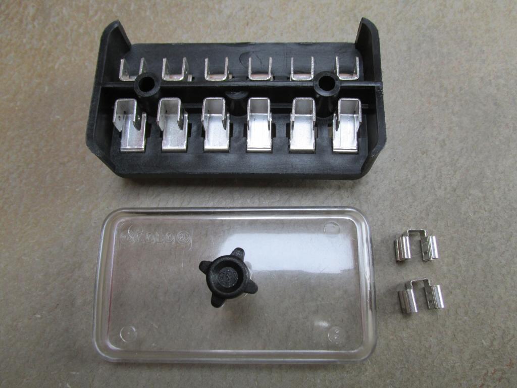 Original Fuse Block 4200 17743000 Moto Guzzi Parts Tonti Frame Box In Old Silver