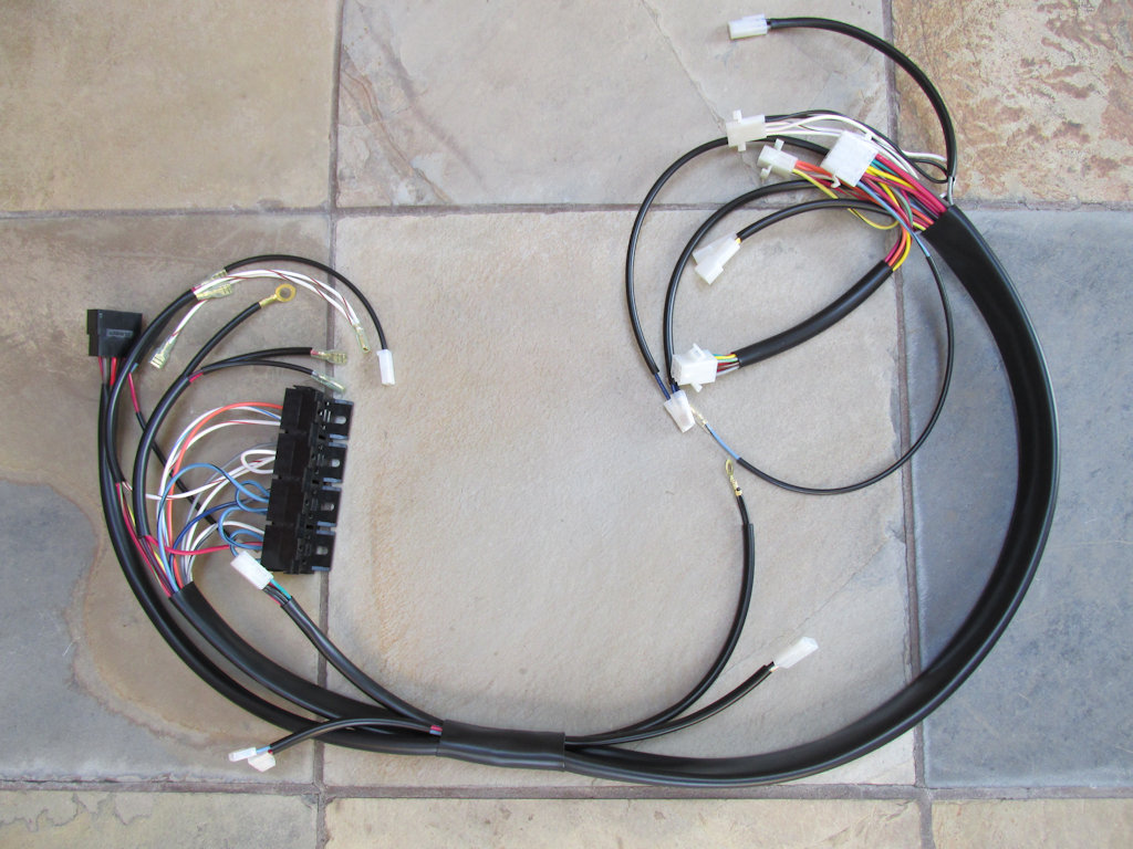 Main Harness For The California Iii Double Contact Breaker Dr Wire Direct Link To Image