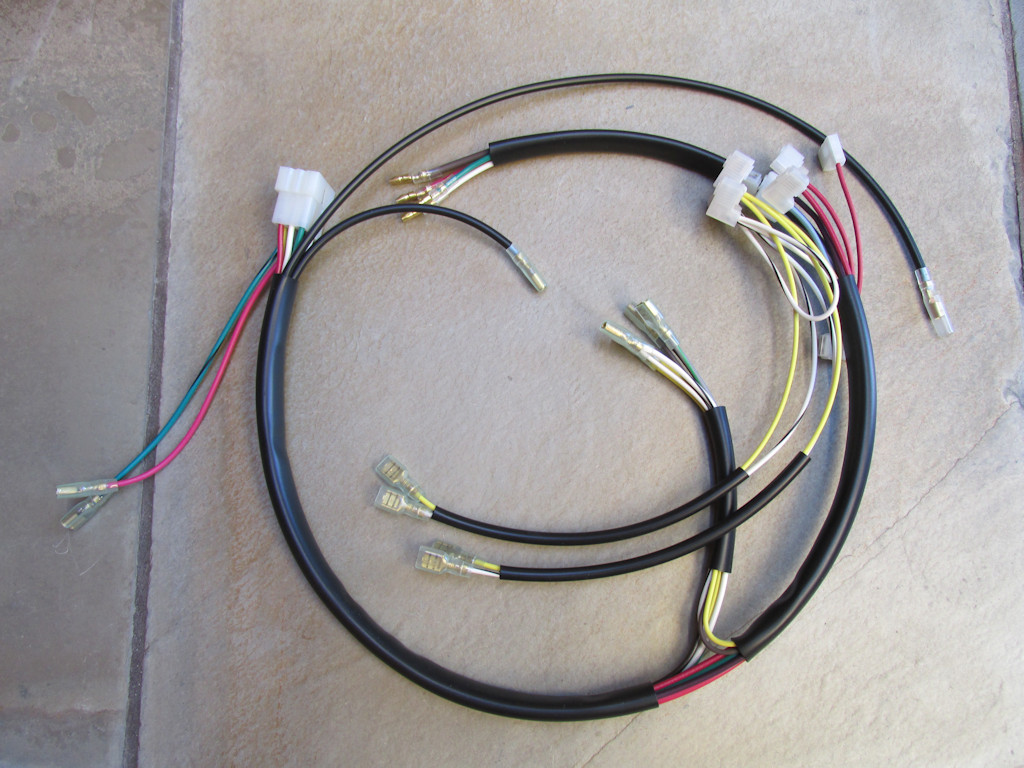 Wiring Harness For Sale : Main harness to dash  moto guzzi parts
