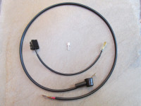 Alternator wiring harness: to fit Bosch coils.