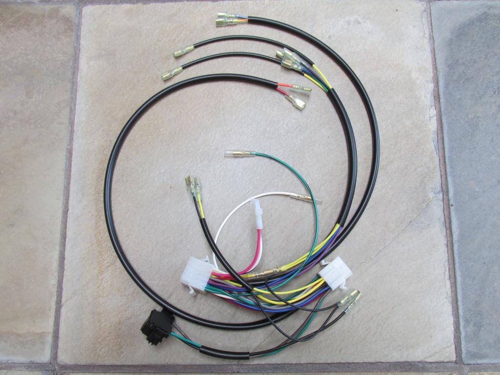 moto guzzi parts benelli wiring harnesses moto guzzi wiring headlight interconnect non usa version
