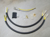 Sub-harness to support the use of two element rear turn signals.