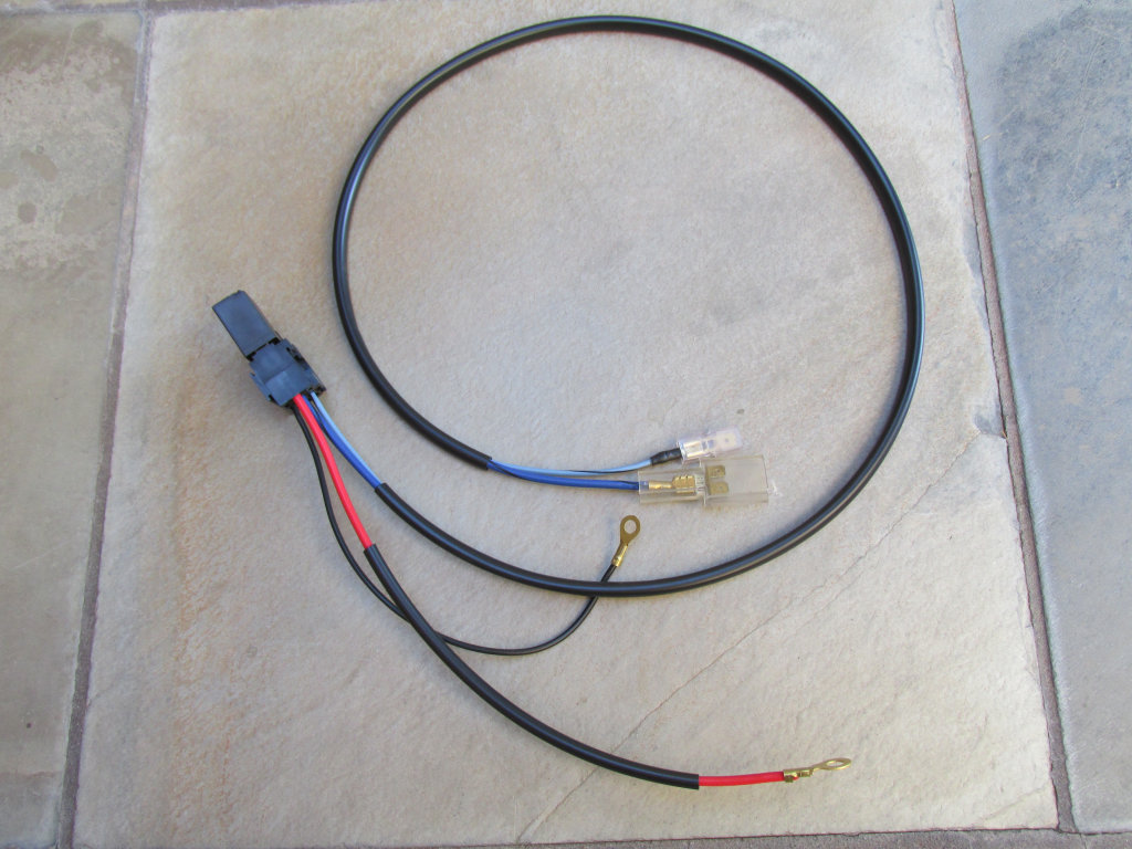 Spotlight Wiring Harness Perth : Relay solution for spot lights on police models