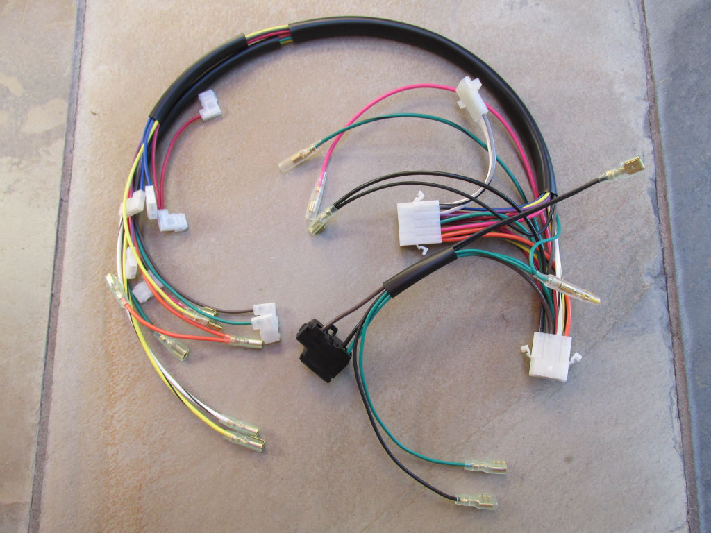 City Lights Wiring Harness Schematic Diagrams Retainer Clips Headlight Interconnect Early Dash With Light Non Usa Version