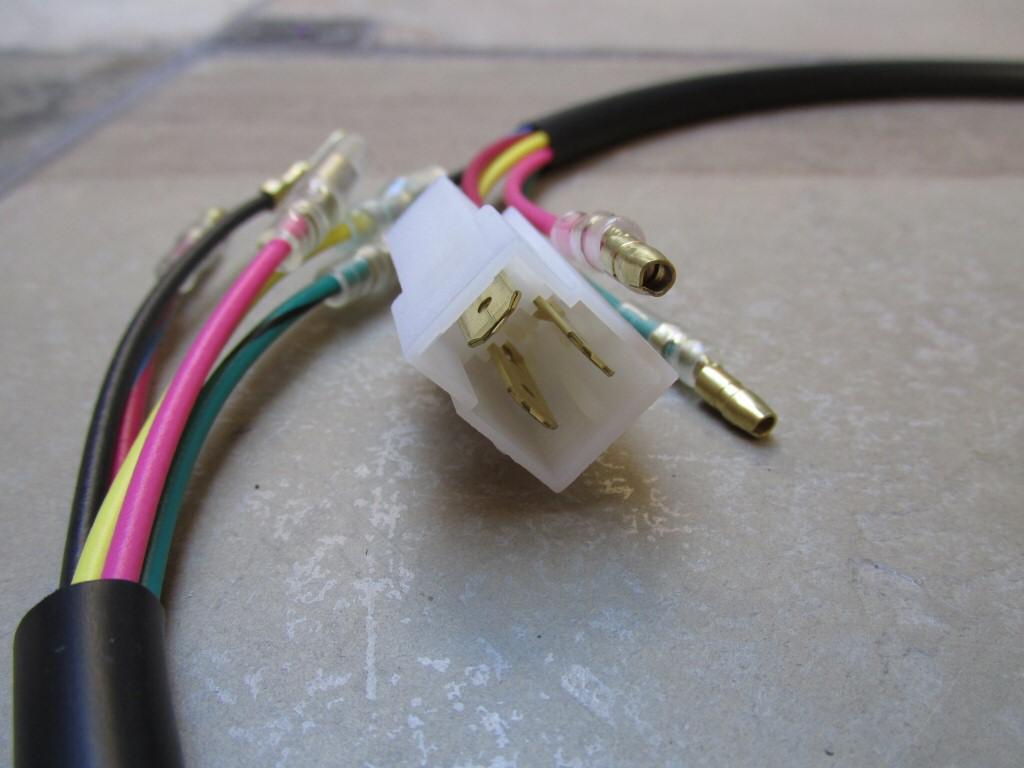 moto guzzi parts wiring harnesses for the moto guzzi california ii tonti frame wiring
