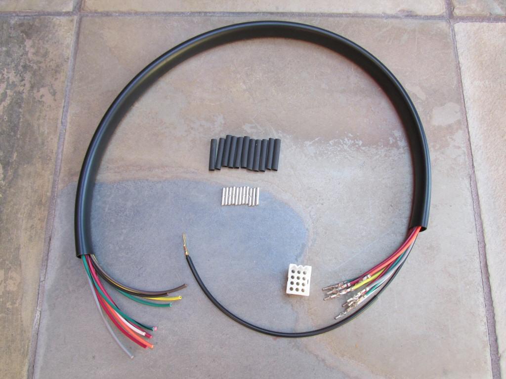 Wiring For Universal Left Handlebar Switches  Headlight