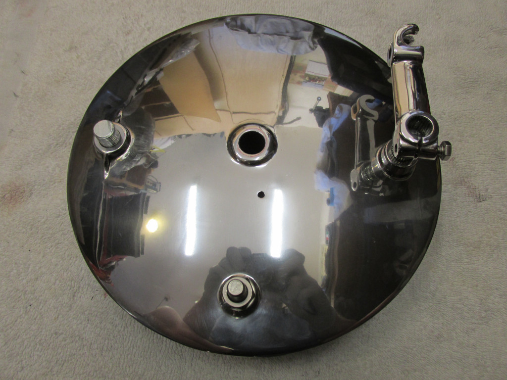 Brake Assembly Rear Drum Loop Frames Moto Guzzi Topics Diagram Here Is The Shiny Side Of