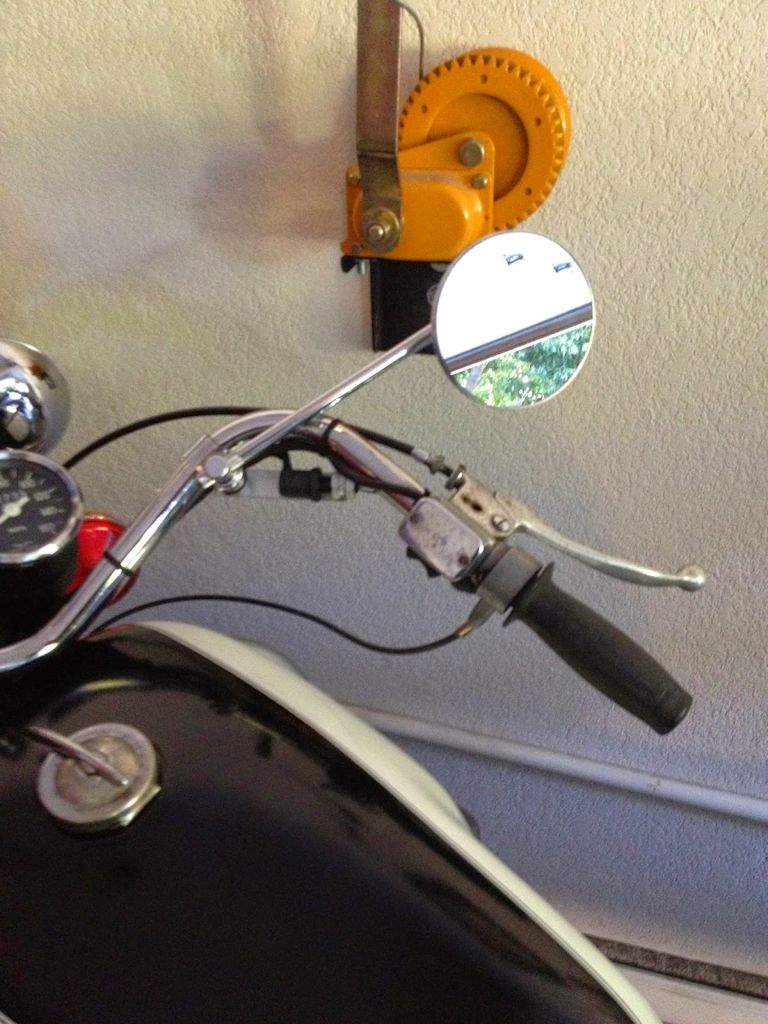 An alternative front brake light switch for drum brake Moto Guzzi V700, V7 Special, Ambassador, 850 GT, 850 GT California, Eldorado, and 850 California Police motorcycles.