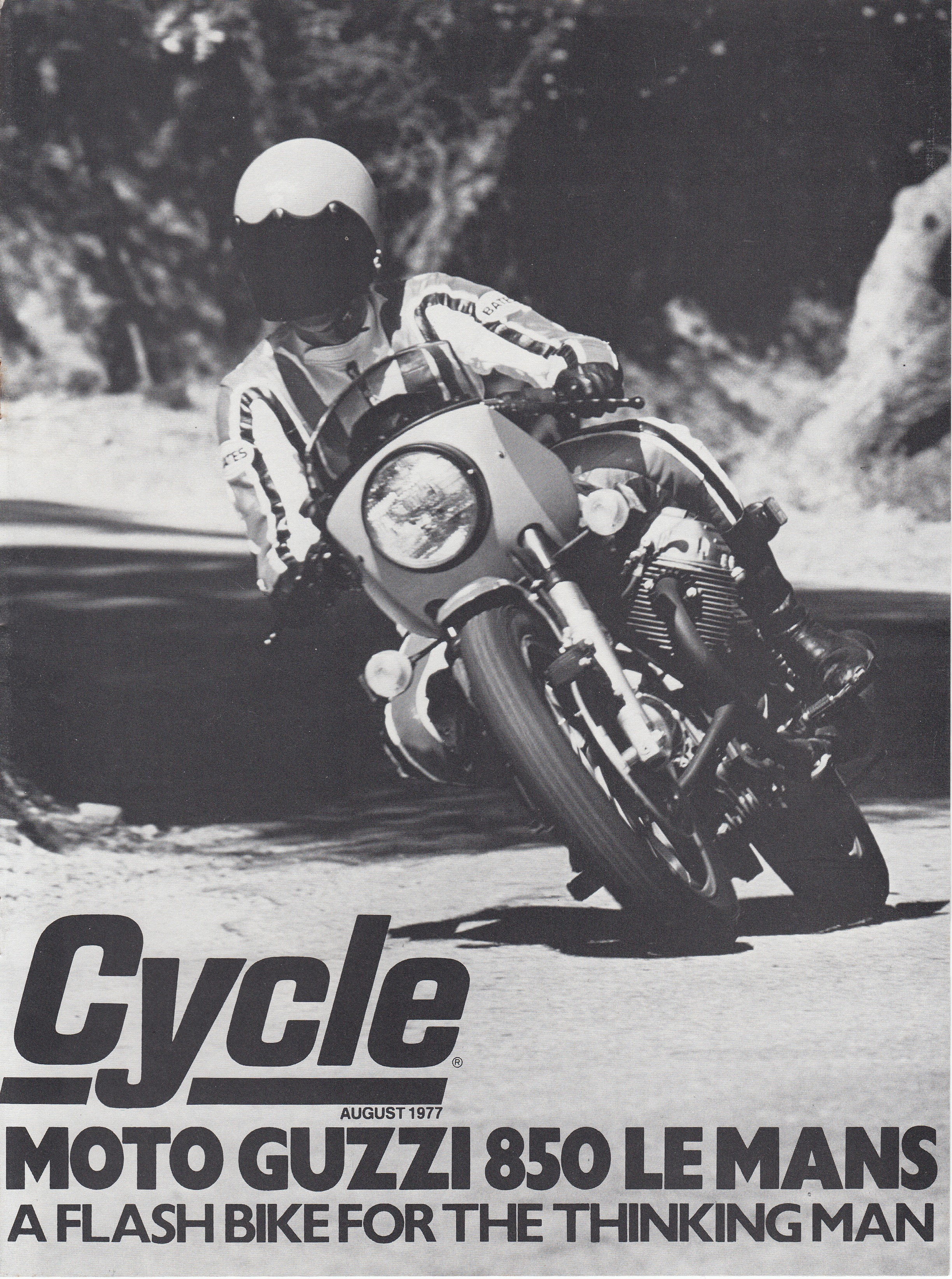 Article - Cycle (1977 August) Moto Guzzi 850 Le Mans - A flash bike for the thinking man