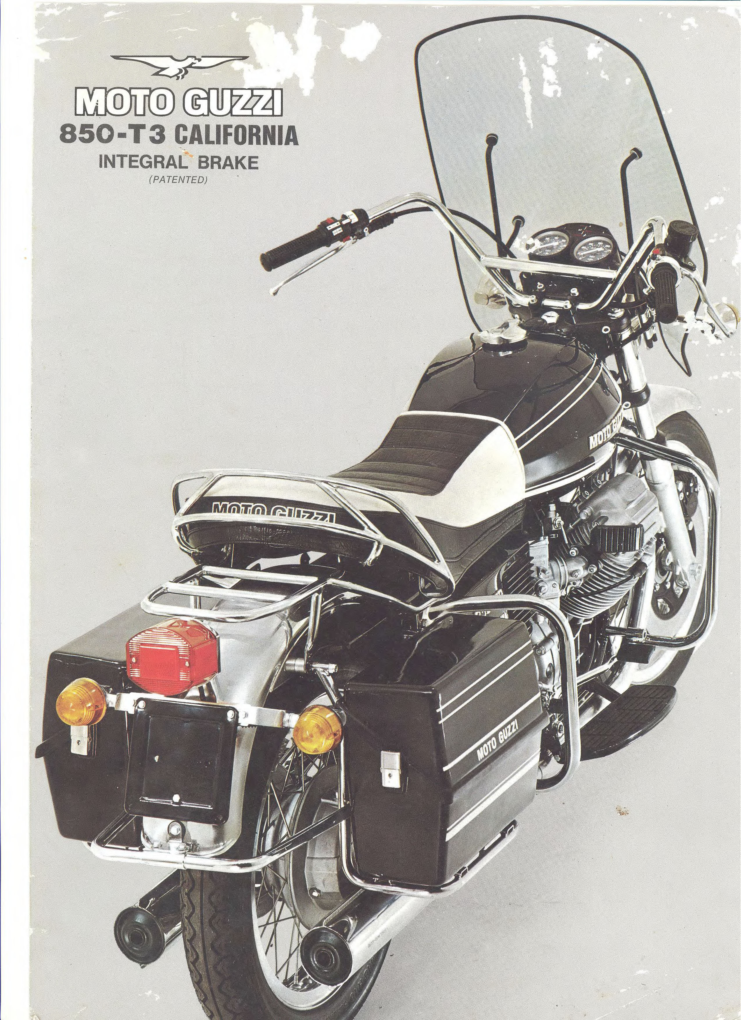 Moto Guzzi factory brochure: 850 T3 California