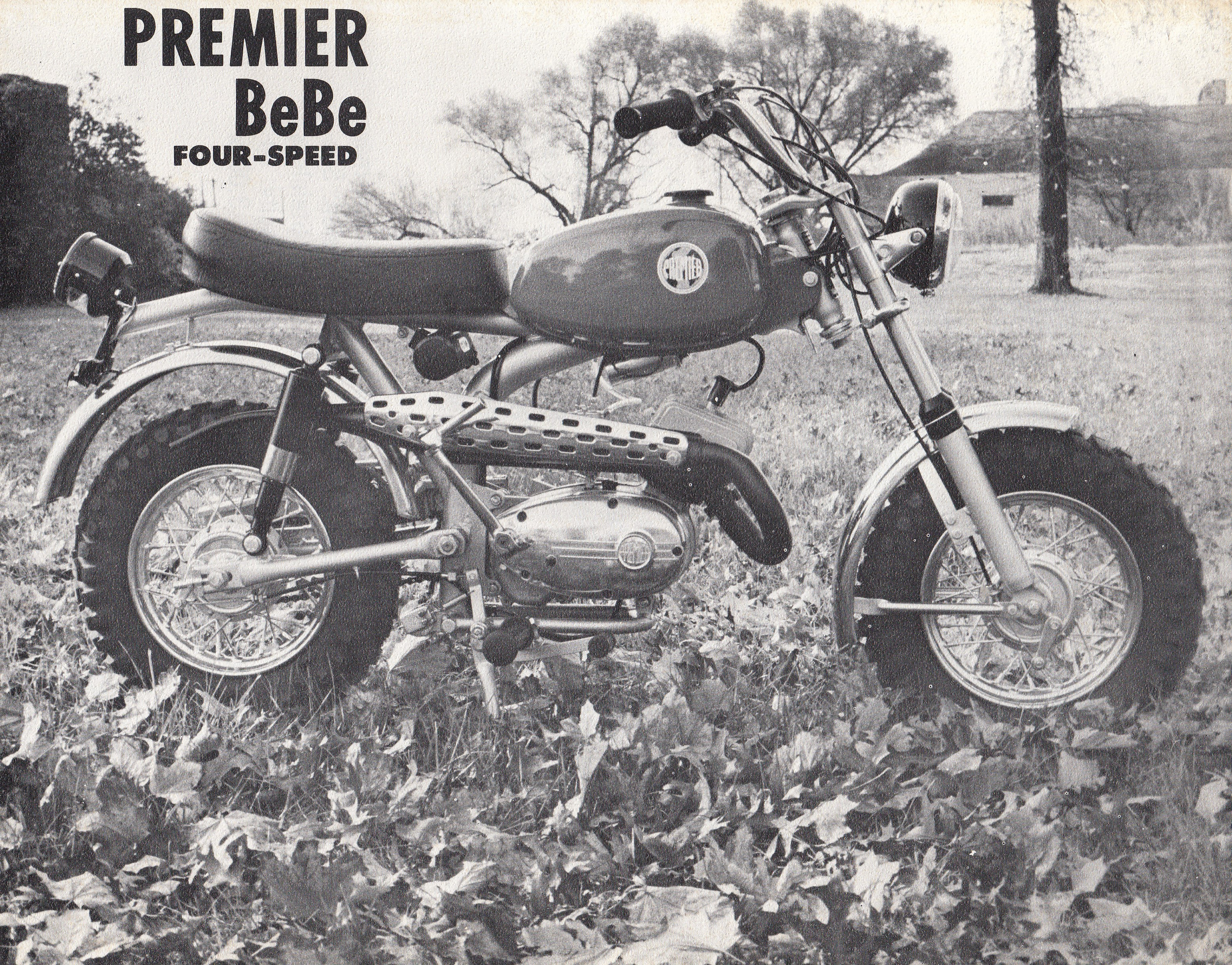 Brochure - Premier Be Be four-speed mini bike