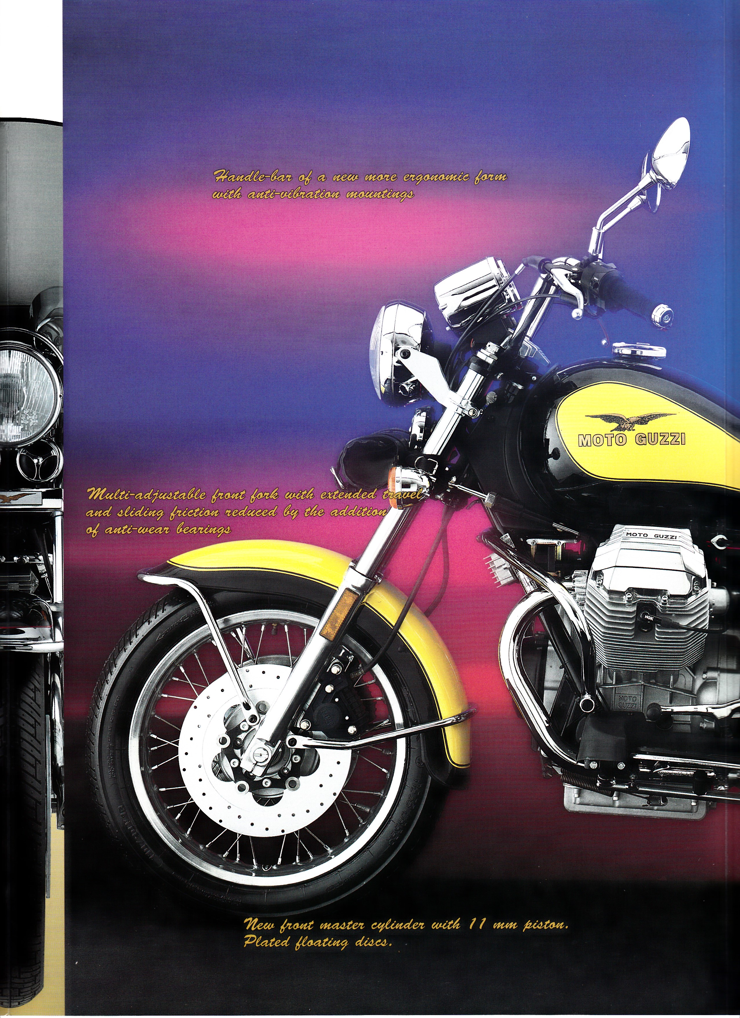Moto Guzzi factory brochure: California 1100