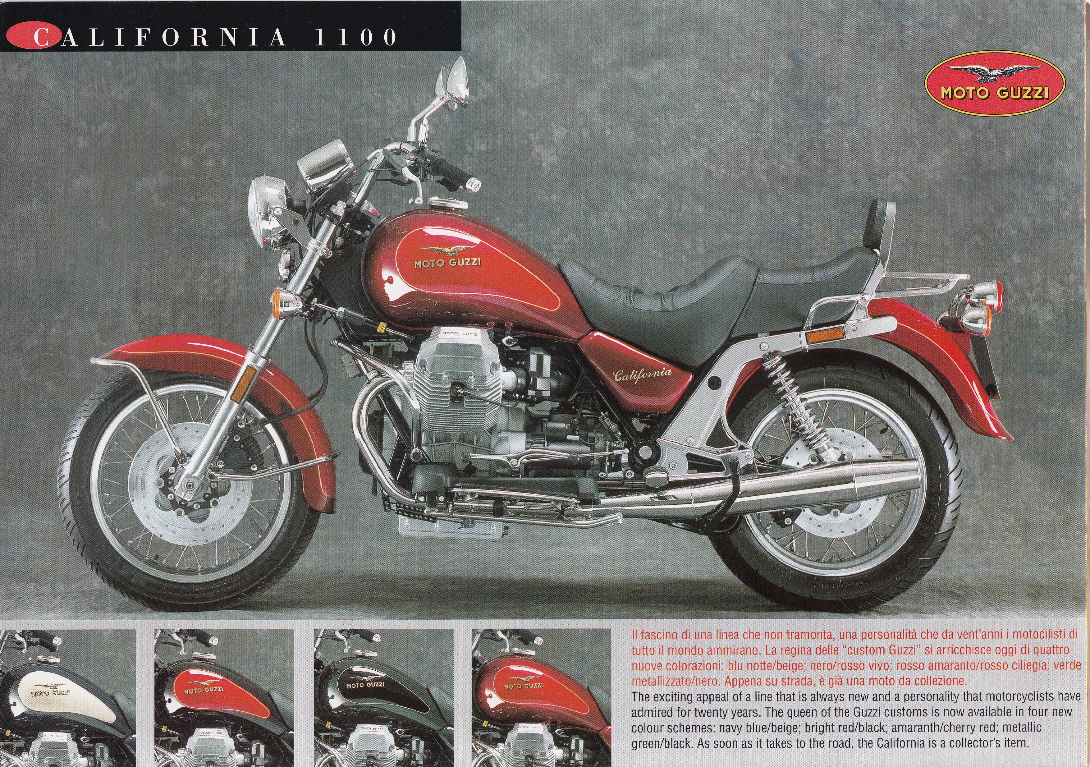 Brochure - Moto Guzzi California 1100