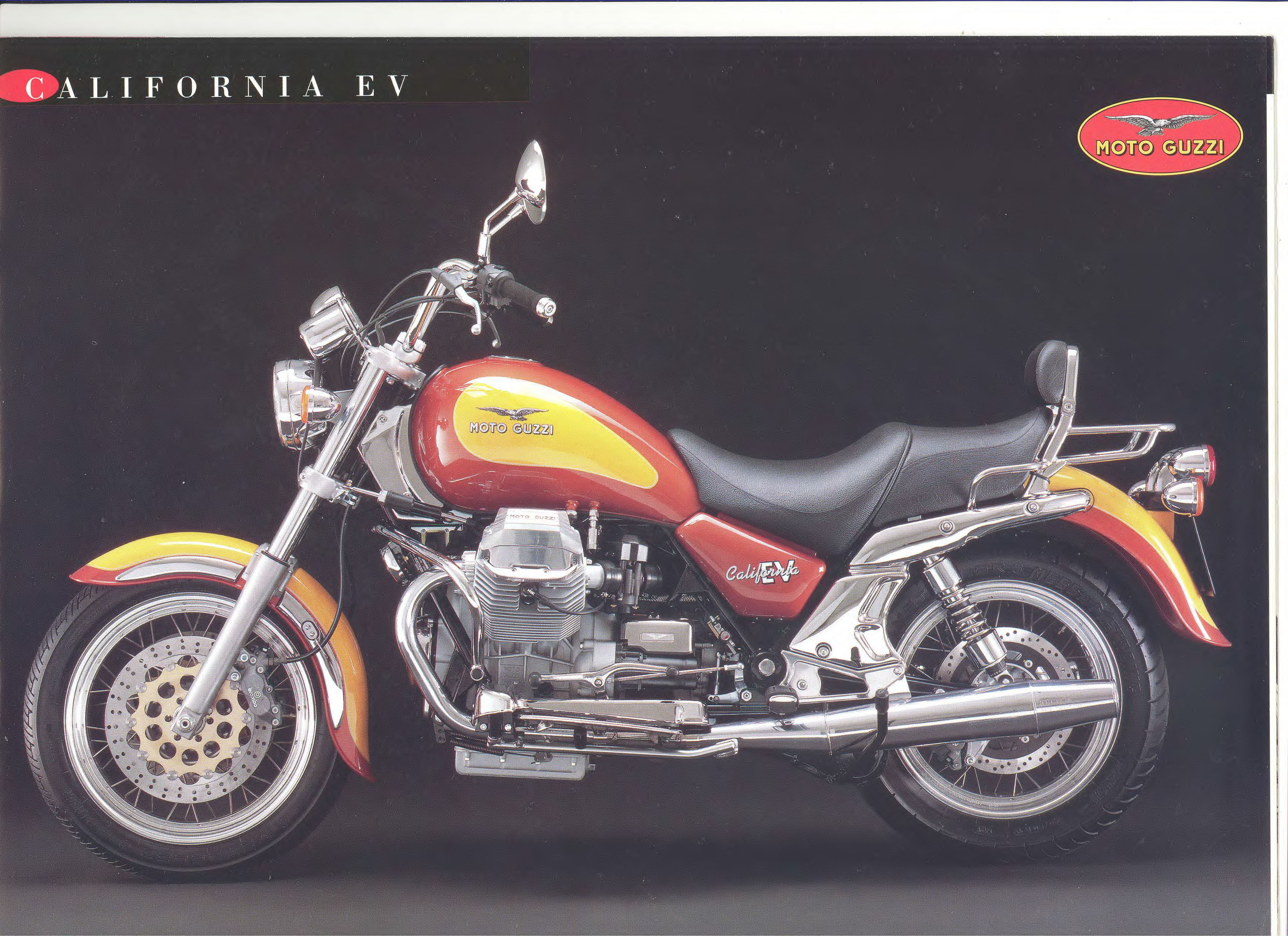 Moto Guzzi factory brochure: California EV