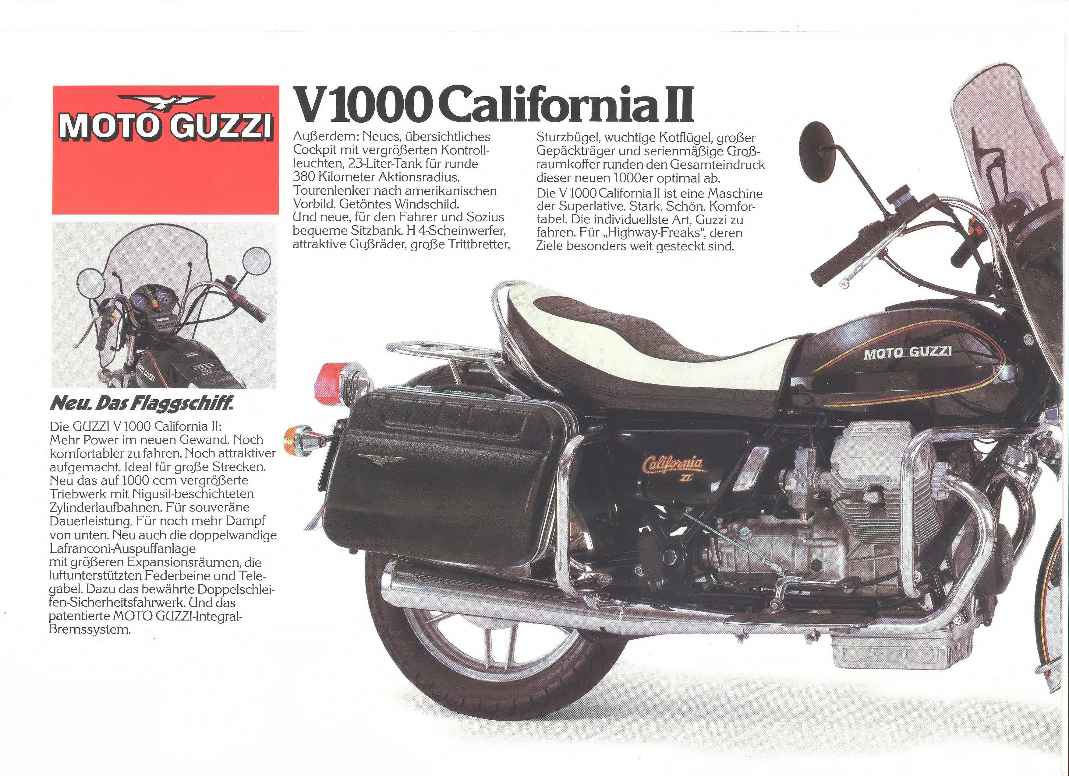 Moto Guzzi factory brochure: California II - 850 T5