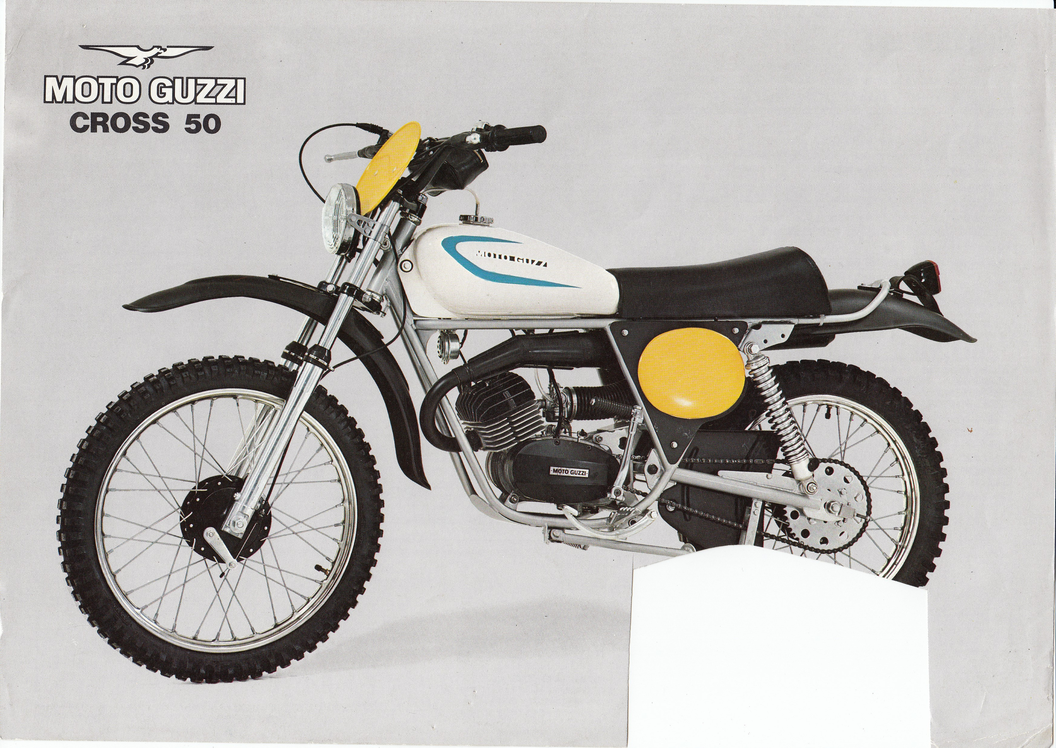 Brochure - Moto Guzzi Cross 50