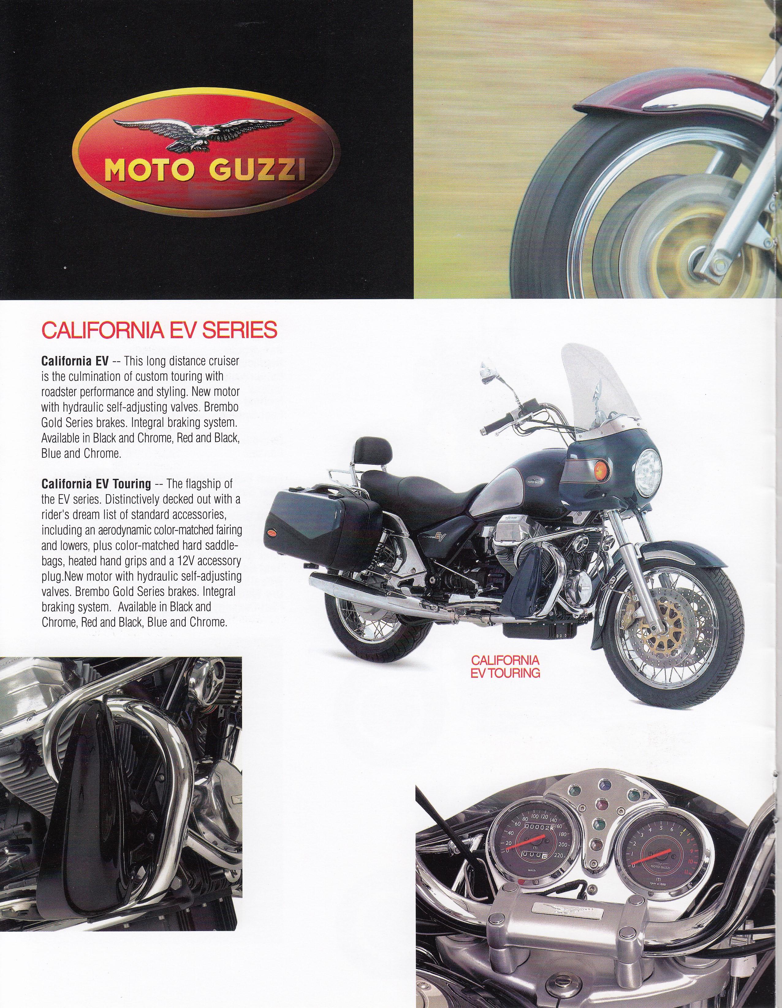 brochure - moto guzzi 2003 - more moto guzzi topics - moto guzzi - topics