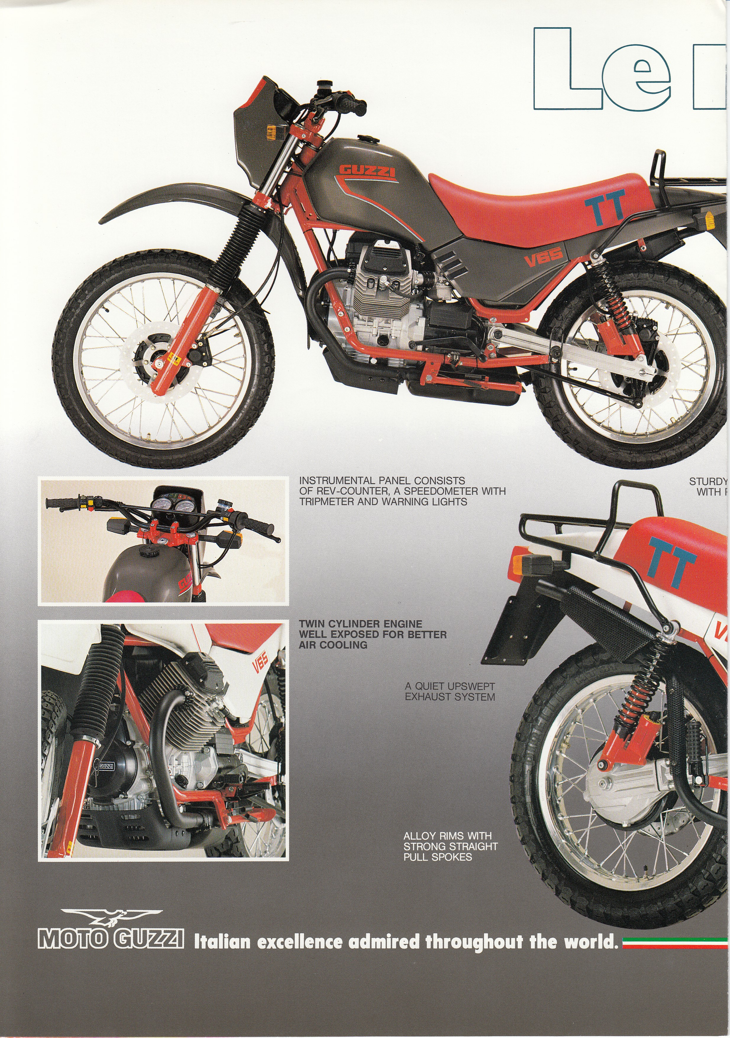 Brochure - Moto Guzzi V65TT (English)