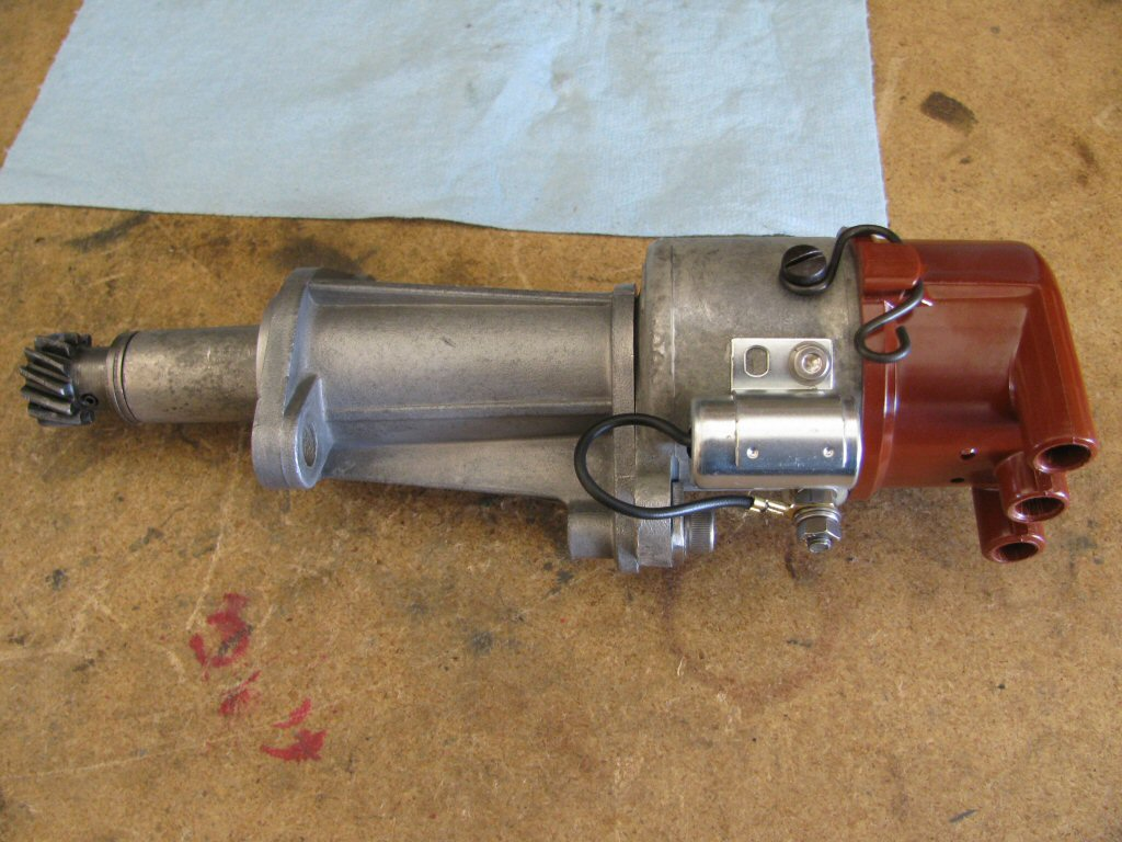 Rebuilt distributor ready to install.