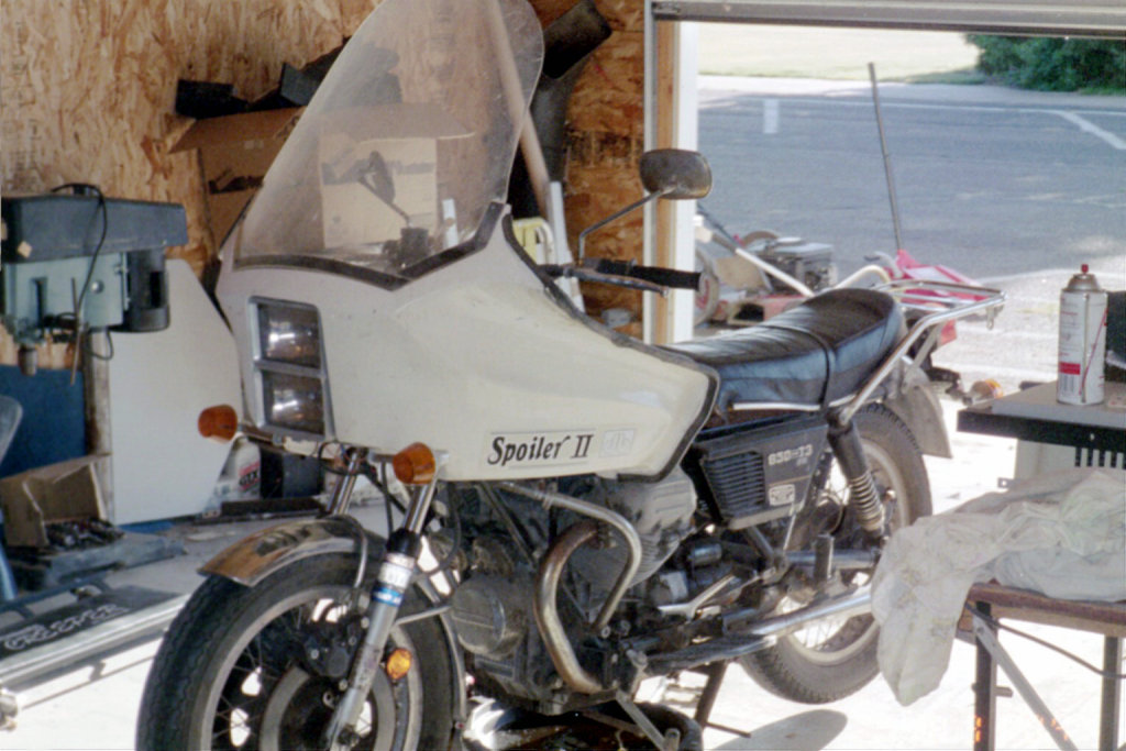 Dan Brown Spoiler II motorcycle fairing.