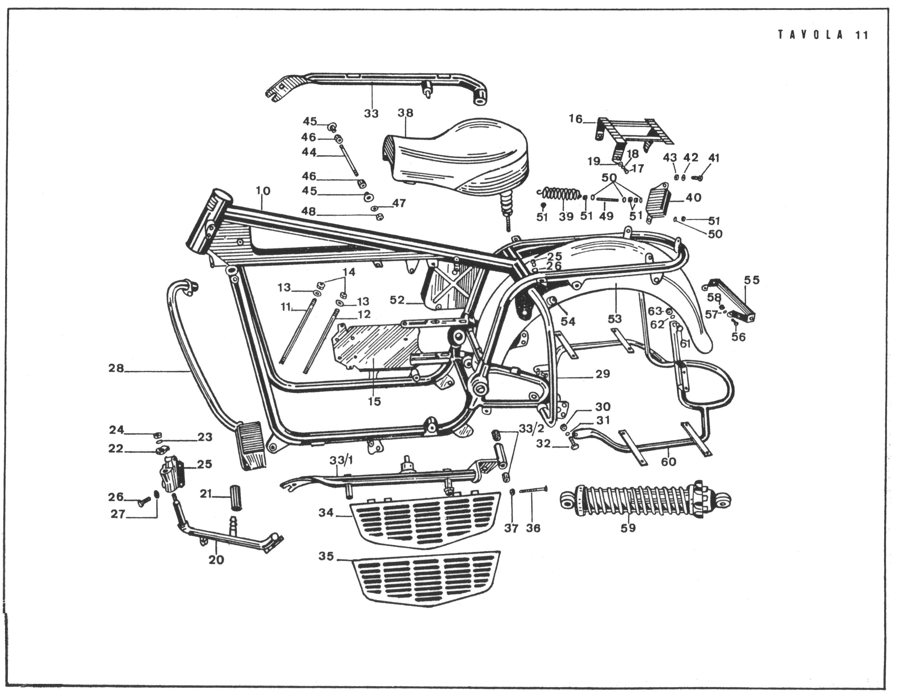 Footboard Comparison - Early Vs  Late Moto Guzzi