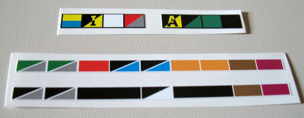 Replacement stickers/labels/decals for the fuse block and distribution panel.
