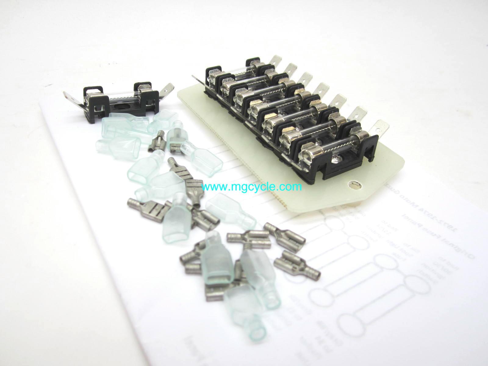 Fuse Block Replacements And Alternatives Loop Frames Moto Guzzi Car Box Repment Replacement For V700 V7 Special Ambassador 850 Gt