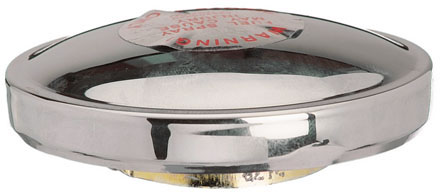 Replacement gas cap for Moto Guzzi V700, V7 Special, Ambassador, 850 GT, 850 GT California, Eldorado, 850 California Police. Fits police tank only. Stant part number 10623.