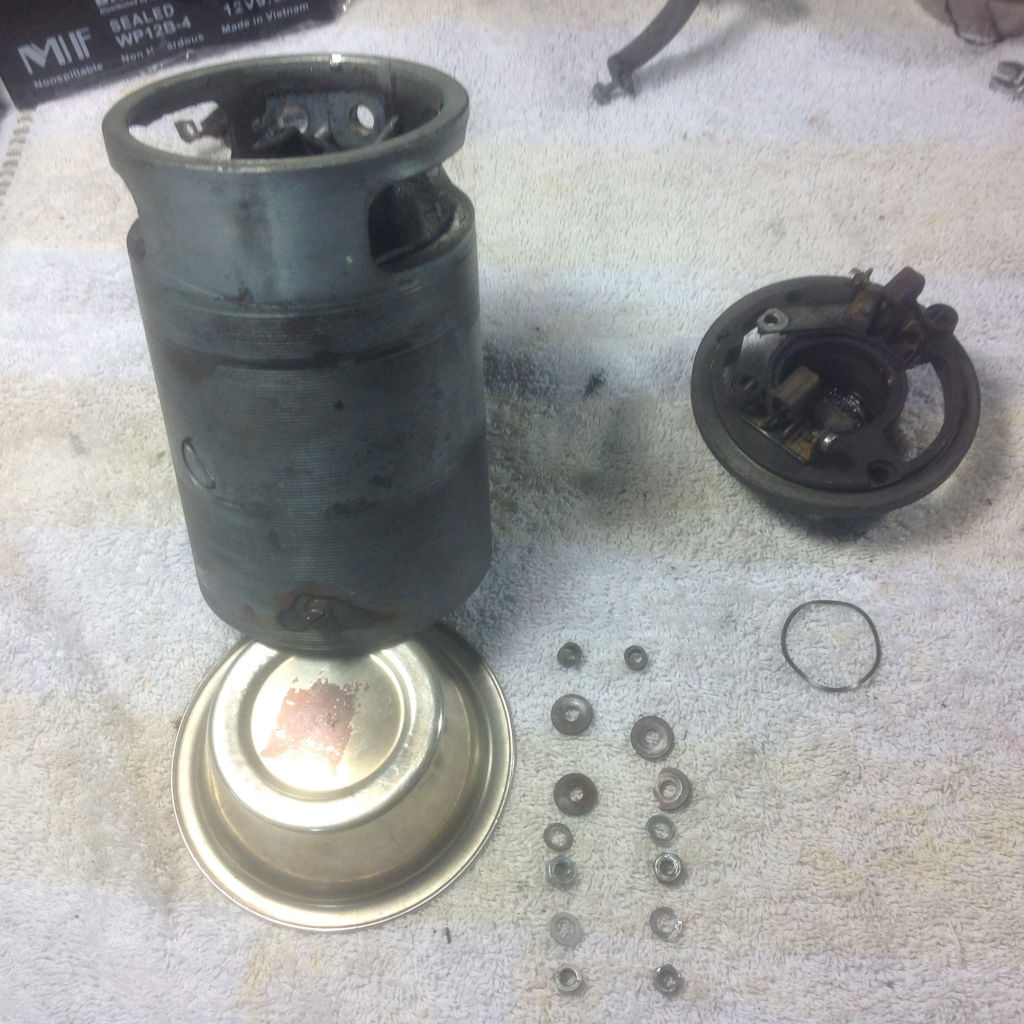 Rebuilding a Bosch generator as used on Moto Guzzi V700, V7 Special, Ambassador, 850 GT, 850 GT California, Eldorado, and 850 California Police models.
