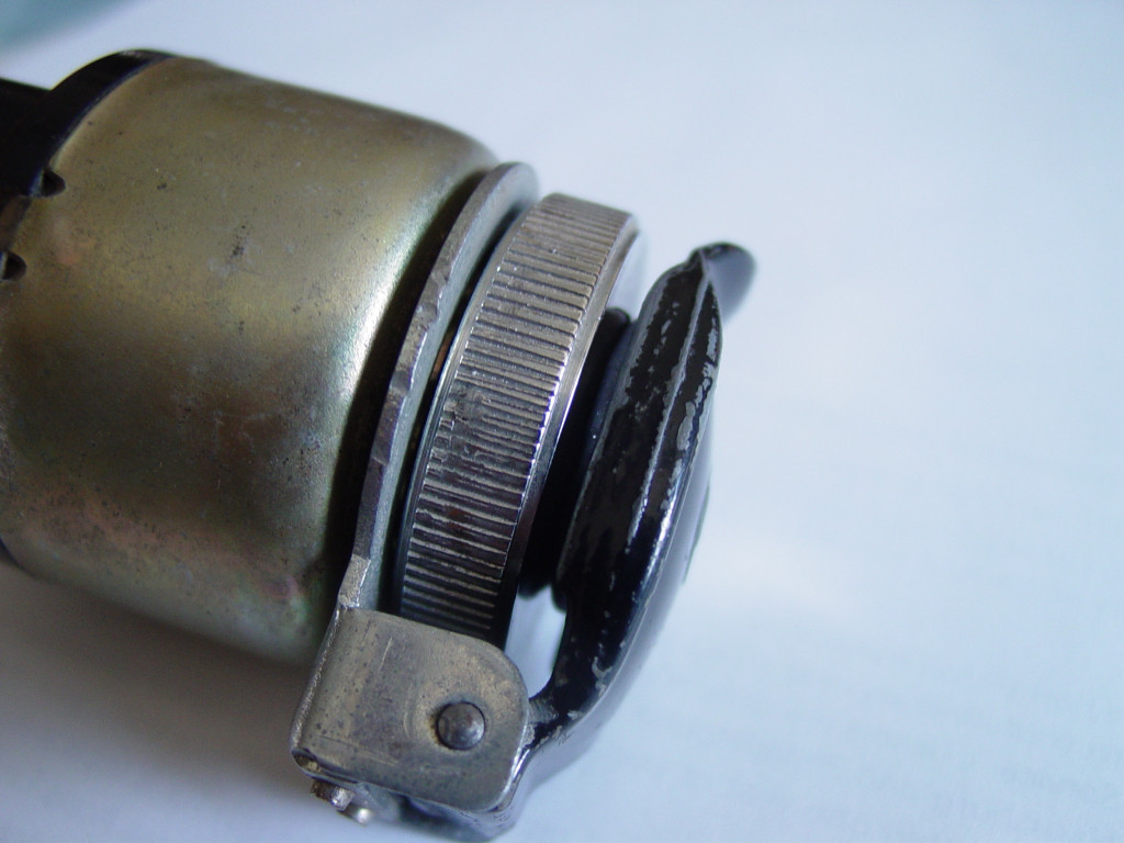 Replacement rubber seal fit to an original Moto Guzzi ignition switch cover.