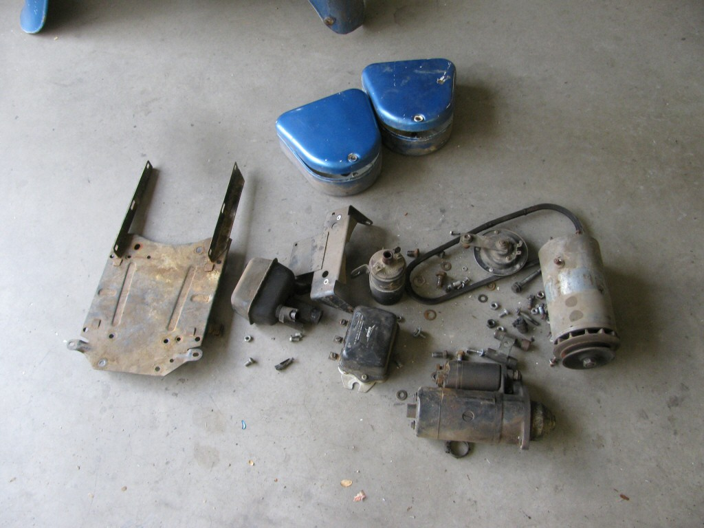 Various components removed.