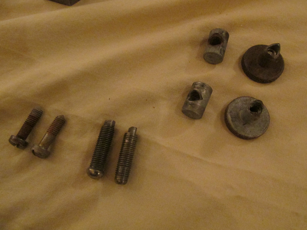 Parts to be zinc plated.