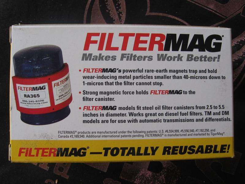 FilterMagThe picture on the box does not represent the HPPAN magnet. The HPPAN model (also called the TM360) is a flat rectangular magnet with sides of 3.1875 inch × 2.9375 inch. It has a pull force of 50 pounds. It cost me USD $44.99 from Jegs.