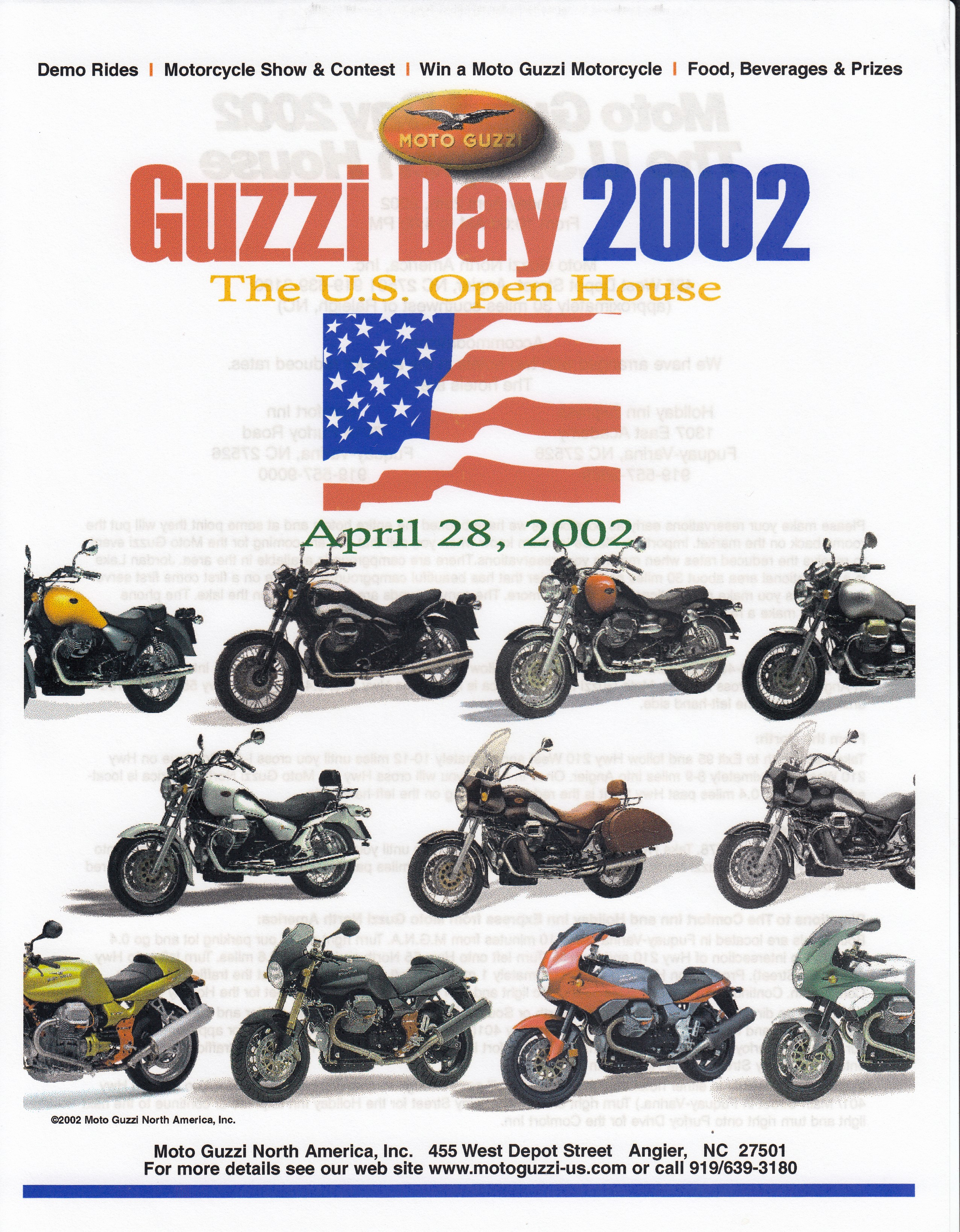 Press release - Moto Guzzi Day 2002