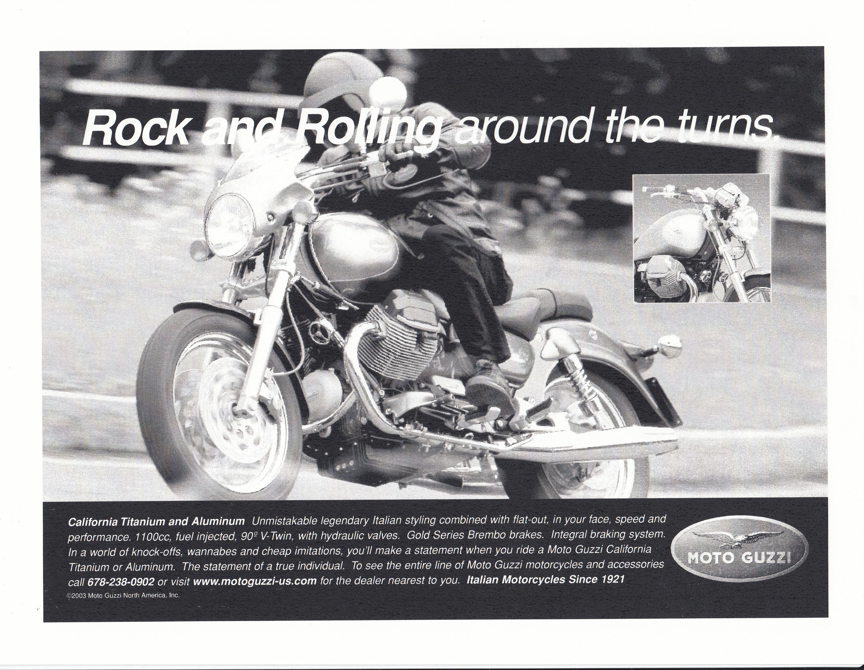 Press release - Rock and rolling around the turns (2003)