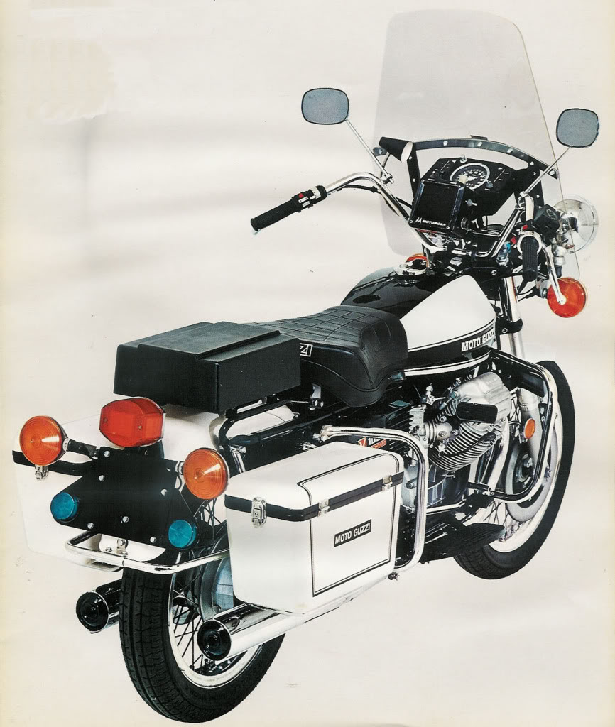 Correct way to mount a police solo seat to a Moto Guzzi 850 T3, V1000 I-Convert or V1000 G5.