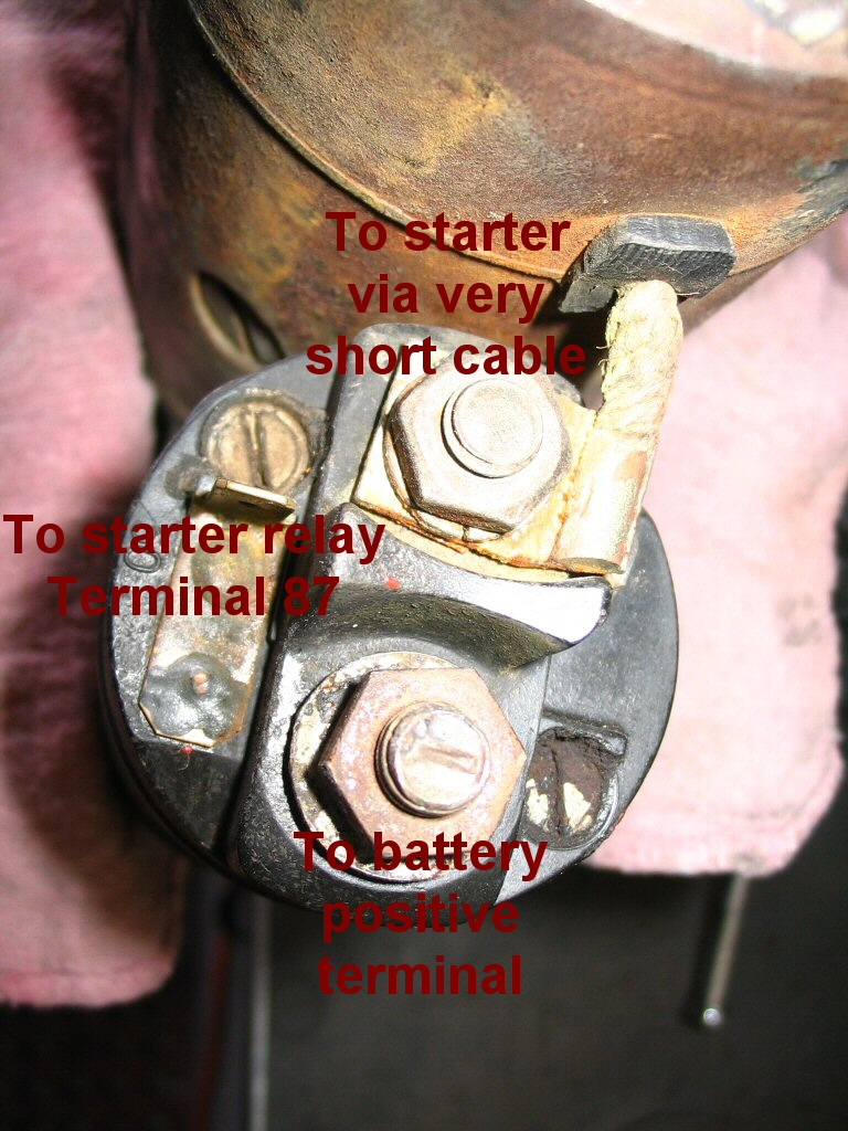 Bosch solenoid as used on all Bosch starters.