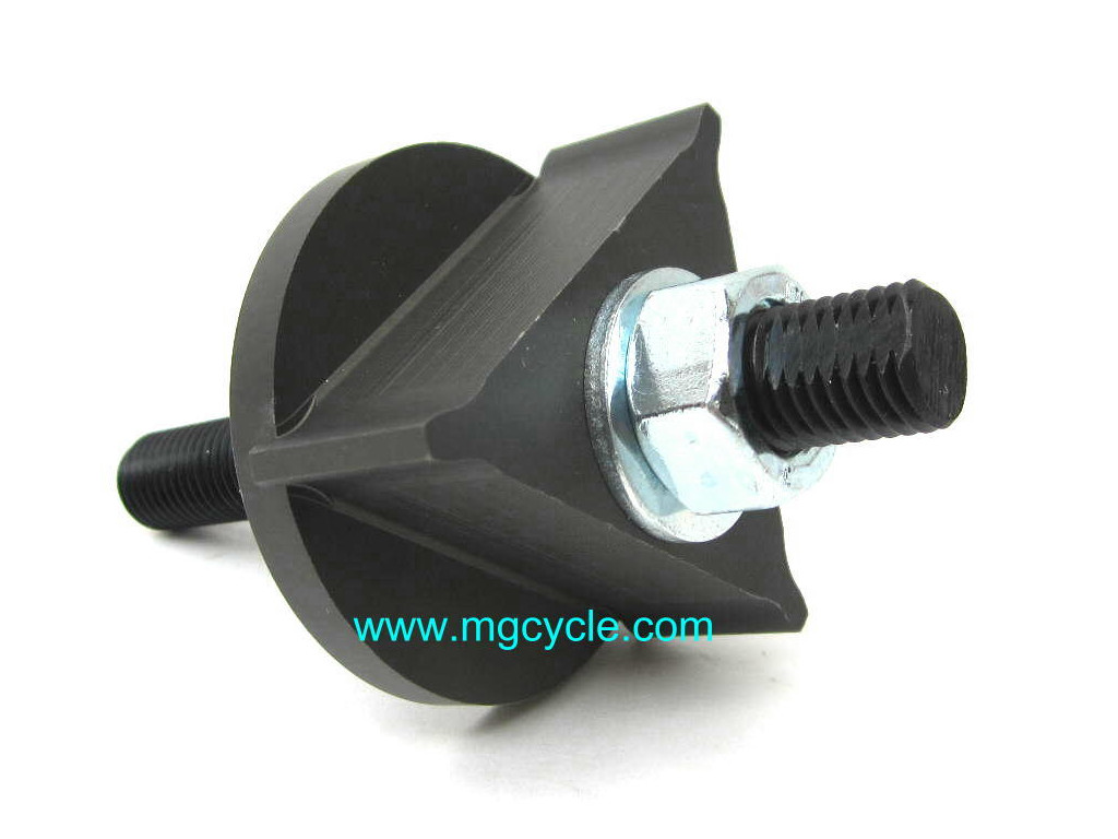 Tool for aligning and centering the clutch plates so that the clutch input hub on the transmission can be installed.