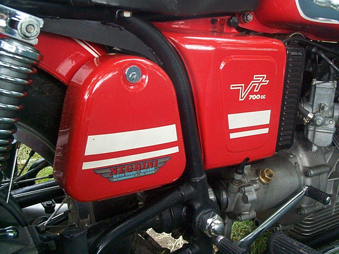 V700s Manufactured In 1975 1976 Loop Frames Moto Guzzi