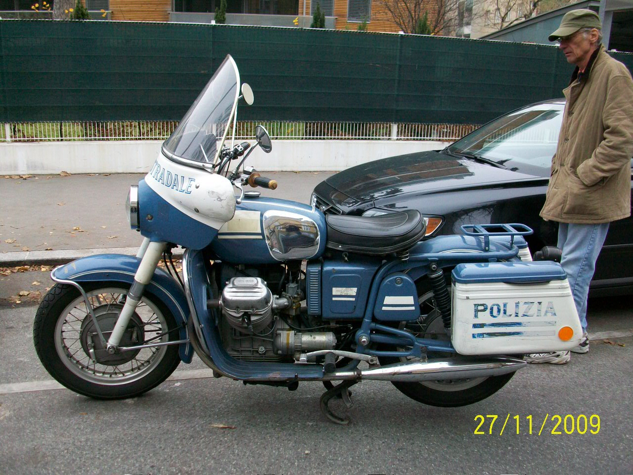 V700 Polizia Stradale owned by Wiener Wilhelm from Vienna, Austria.