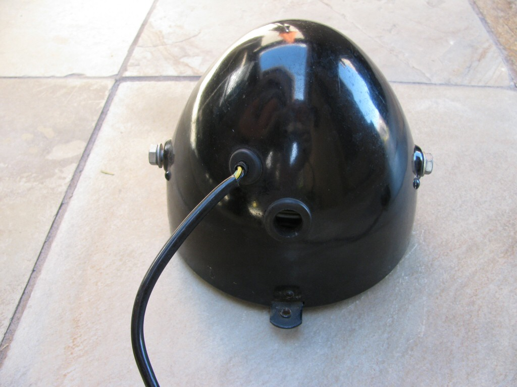Headlight bucket as fit to a Moto Guzzi Astore.