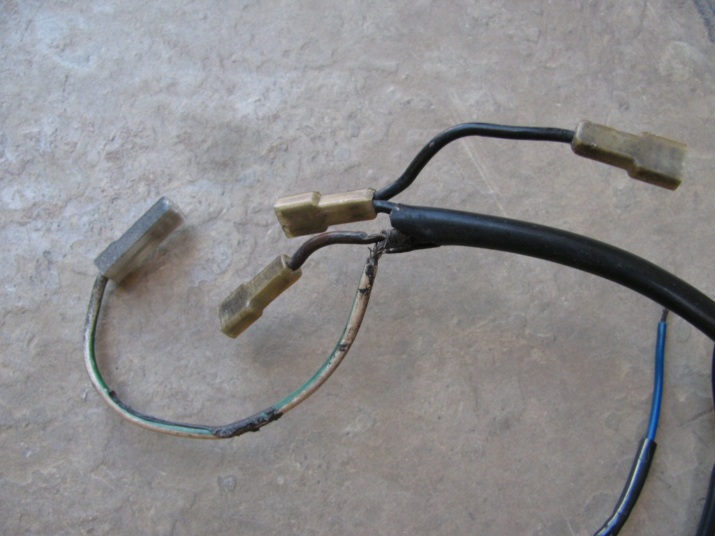 Main harness for the Moto Guzzi 850 T (MG# 17747100).