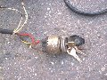 Ignition switch, Moto Guzzi photo archive of parts