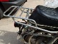 Luggage rack and back rest, Moto Guzzi photo archive of parts
